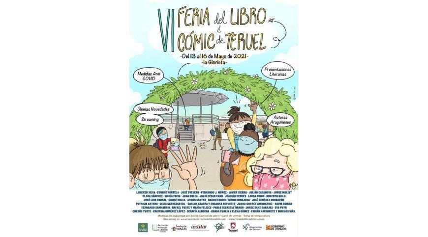Horario de firmas. Feria del Libro y el Cómic de Teruel 2021
